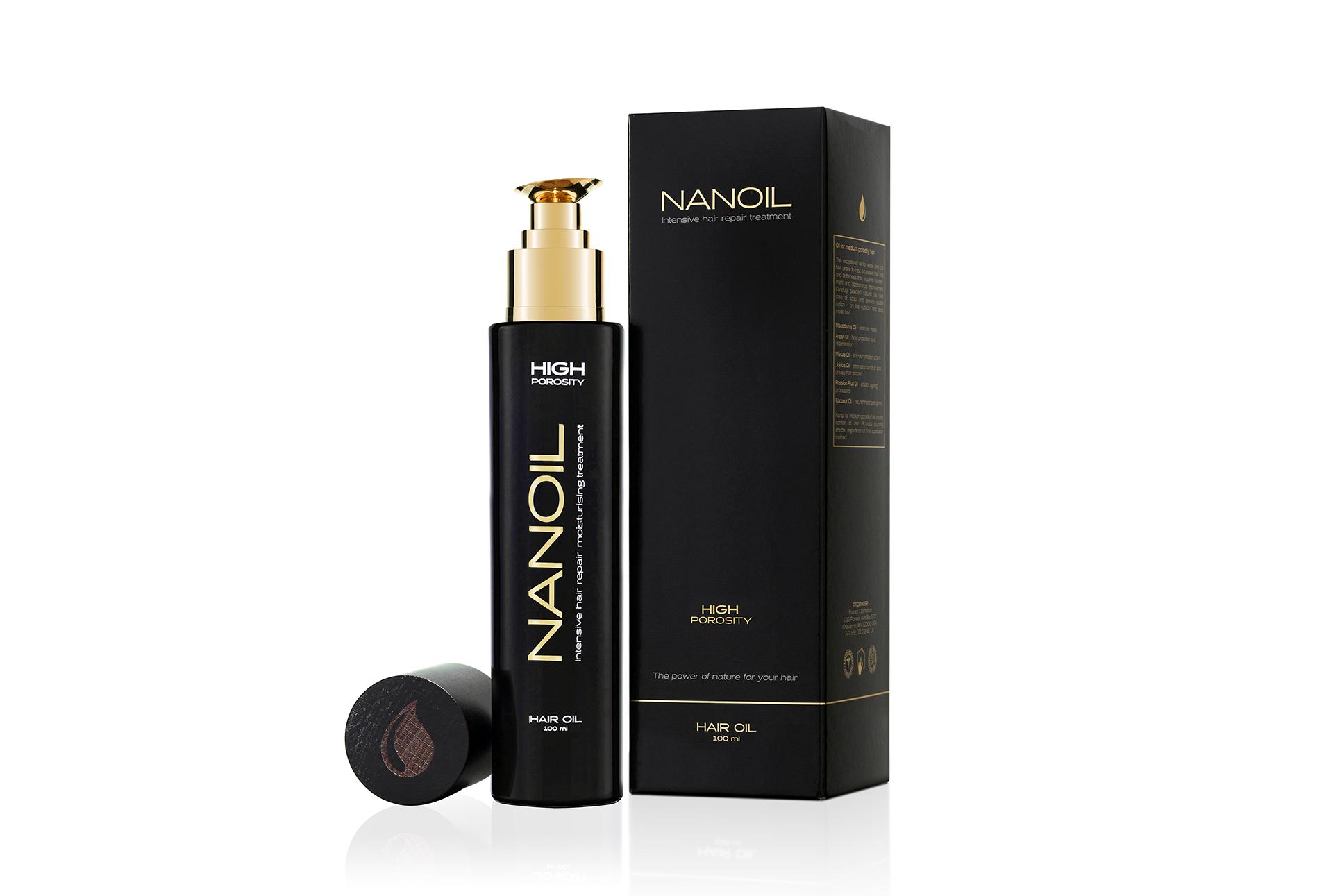 φροντίστε τα μαλλιά με Nanoil
